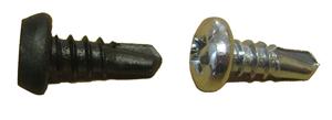 Саморез с полуцилиндрической головкой по металлу, сверло